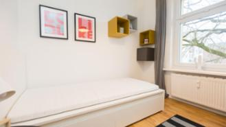 Room in a shared flat - furnished - 4 WG - Renovated - Hamburg - Wandsbek