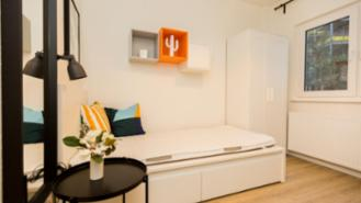 * 6 WG with 2 bathrooms* newly renovated at the TUHH * the approximately 9qm rent rooms furnished