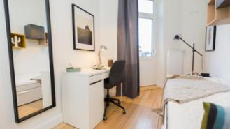 * furnished 6 WG * freshly renovated with a balcony in 5 min at TUHH!